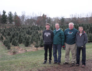 Santa's Evergreens Tree Farm: Christmas Trees in Hudson, WI